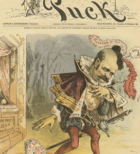 Puck Magazine, David B. Hill