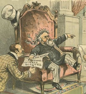 Puck Magazine, US Spoils System