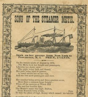 """Song of The Steamer Metis"""