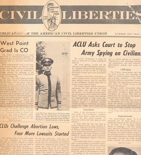 Civil Liberties Newspaper (ACLU)