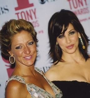 Gina Gershon & Edie Falco (Peter Warrack)