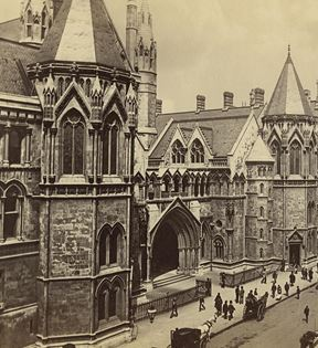 The Law Courts, London