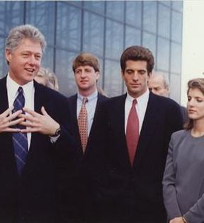 Bill Clinton & John F. Kennedy, Jr. (Peter Warrack)