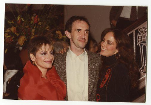 Catherine Bach, Patti Lupone, Jonathan Pryce (Peter Warrack)