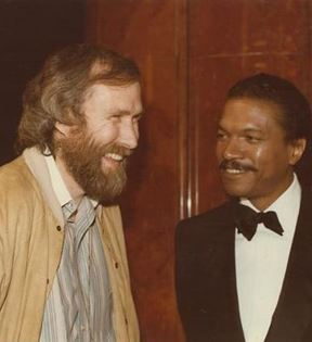 Jim Henson & Billy Dee Williams (Peter Warrack)