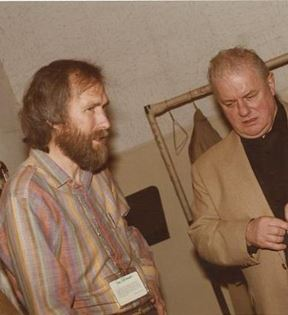 Jim Henson & Charles Durning (Peter Warrack)
