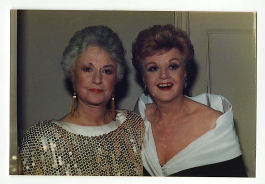 Bea Arthur & Angela Lansbury (Peter Warrack)
