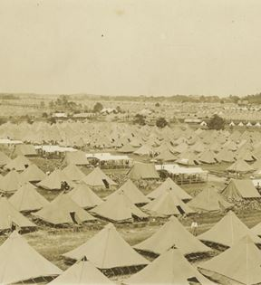 Gettysburg Reunion Tented City