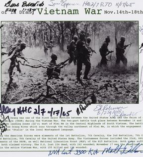 Battle of Ia Drang, Vietnam