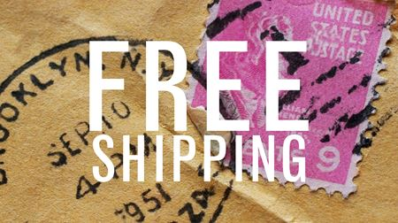 FREE First Class Domestic Shipping On All Orders