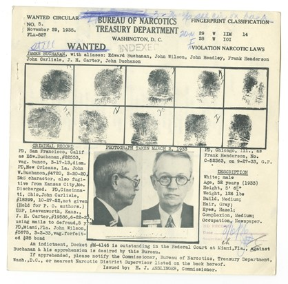 Wanted Sheet