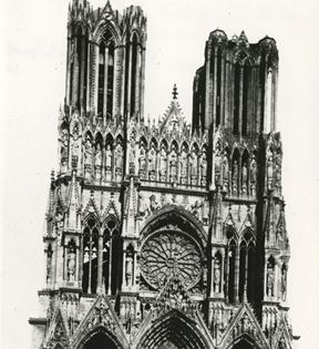 Reims French Cathedral