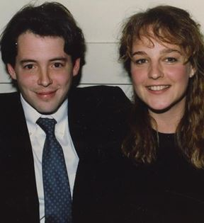 Matthew Broderick & Helen Hunt (Peter Warrack)