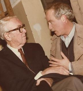 Jimmy Stewart & Richard Dreyfuss (Peter Warrack)
