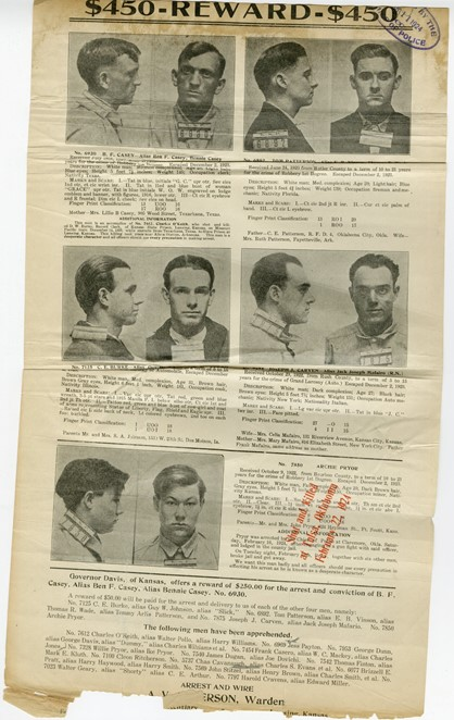 Wanted Notice - 1924