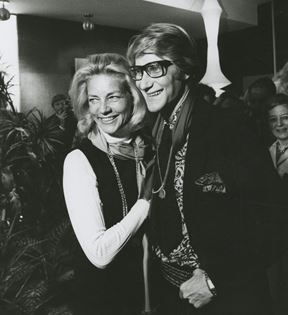 Ken Regan (Yves St. Laurent & Lauren Bacall)