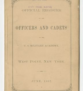 West Point Register Booklet